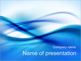 Abstract Composition PowerPoint Template - Slide 1