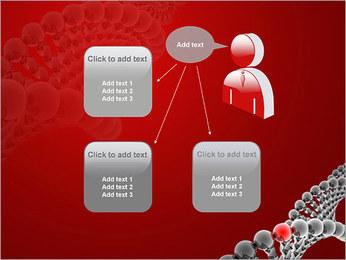 Gène dans l'ADN Modèles des présentations  PowerPoint - Diapositives 12