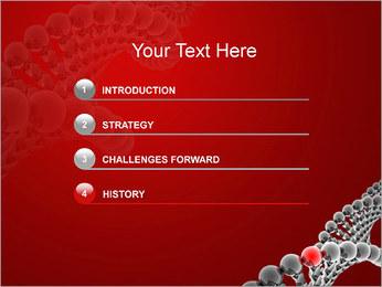 Gène dans l'ADN Modèles des présentations  PowerPoint - Diapositives 3