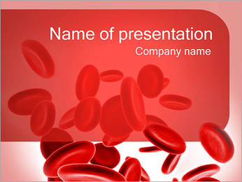 Hemoglobin Cells PowerPoint Template
