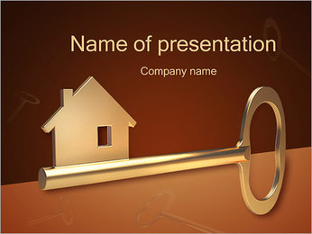 Home Key PowerPoint Template
