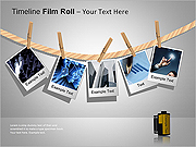 Film Roll PPT Diagrams & Charts