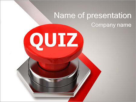 Quiz PowerPoint Template, Backgrounds & Google Slides - ID ...