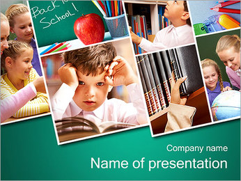 School Images PowerPoint Template