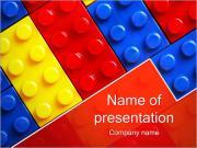 Oyuncaklar Blok PowerPoint sunum şablonları