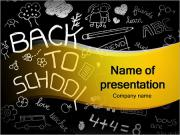 Back to School Doodles PowerPoint Templates