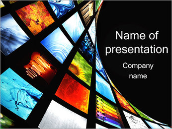 Many Screens PowerPoint Template
