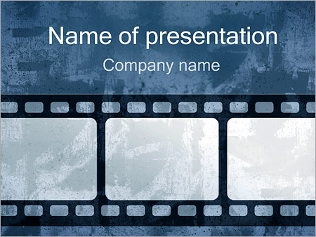 Retro Film Strip PowerPoint Template, Backgrounds & Google Slides ...