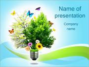 Eco Concept Plantillas de Presentaciones PowerPoint