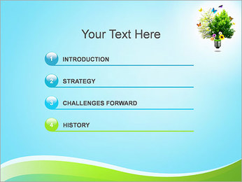 Eco Concept PowerPoint Template - Slide 3