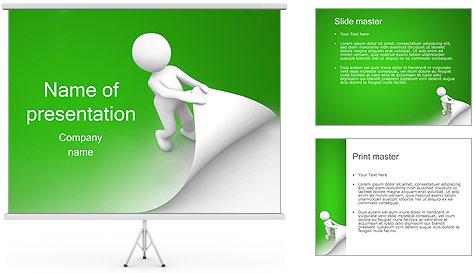 Nova Página Modelos de apresentações PowerPoint