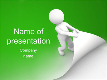 New Page PowerPoint Template