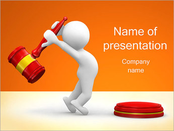Auction PowerPoint Template