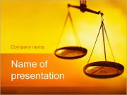 Scales of Justice PowerPoint Templates