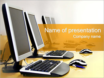 Computers PowerPoint Template