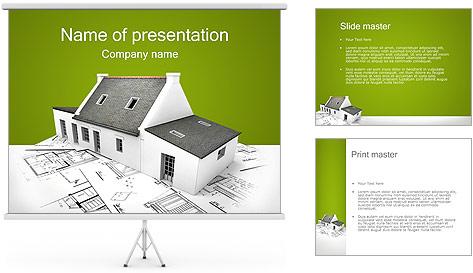 Arquitetura Modelos de apresentações PowerPoint
