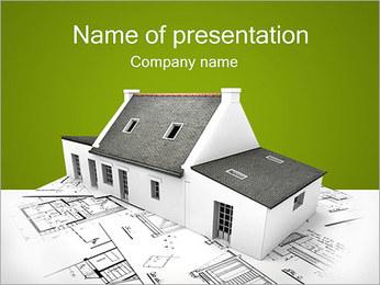 Arkitektur PowerPoint presentationsmallar