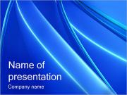 Blue Lines PowerPoint Templates