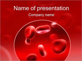 Glóbulos Rojos Plantillas de Presentaciones PowerPoint