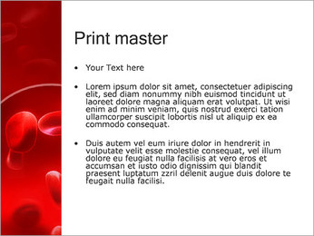 Red Blood Cells PowerPoint Template - Slide 24