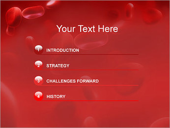 Red Blood Cells PowerPoint Template - Slide 3