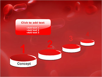 Red Blood Cells PowerPoint Template - Slide 7