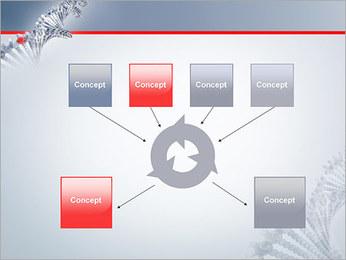Brin d'ADN Modèles des présentations  PowerPoint - Diapositives 10