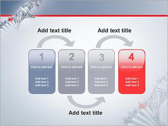 Brin d'ADN Modèles des présentations  PowerPoint - Diapositives 11