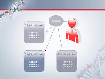 Brin d'ADN Modèles des présentations  PowerPoint - Diapositives 12