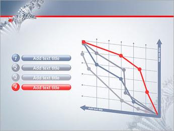 Brin d'ADN Modèles des présentations  PowerPoint - Diapositives 13