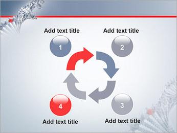Brin d'ADN Modèles des présentations  PowerPoint - Diapositives 14