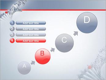 Brin d'ADN Modèles des présentations  PowerPoint - Diapositives 15