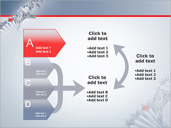 Brin d'ADN Modèles des présentations  PowerPoint - Diapositives 16
