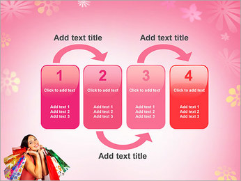 Shopping Pretty Woman PowerPoint Template - Slide 11