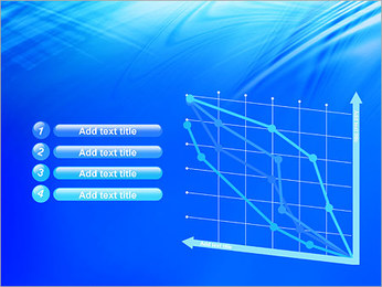 Blue Light Wave PowerPoint Template - Slide 13