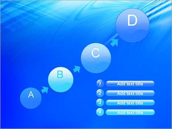 Blue Light Wave PowerPoint Template - Slide 15