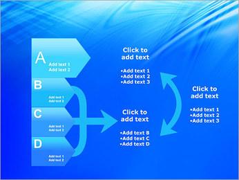 Blue Light Wave PowerPoint Template - Slide 16