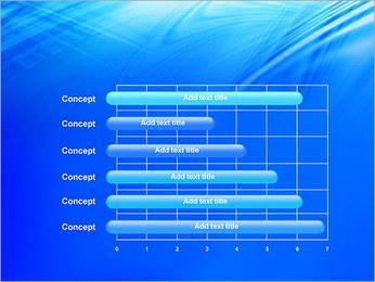 Blue Light Wave PowerPoint Template - Slide 17