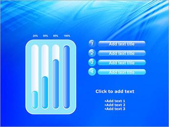 Blue Light Wave PowerPoint Template - Slide 18