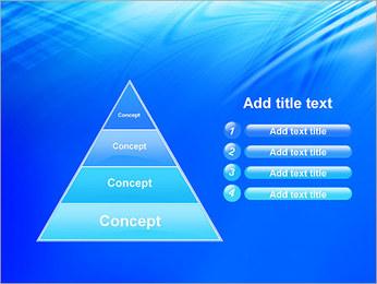 Blue Light Wave PowerPoint Template - Slide 22