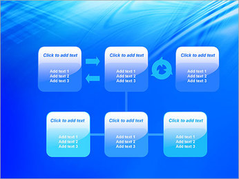Blue Light Wave PowerPoint Template - Slide 23