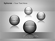 Spheres-Concept PPT Diagrams & Chart