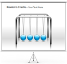 Newtons Cradle PPT Diagrams & Chart