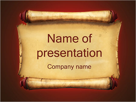 ancient paper powerpoint template backgrounds google slides id