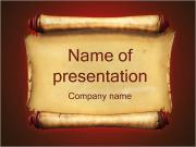 Ancient Paper PowerPoint Templates