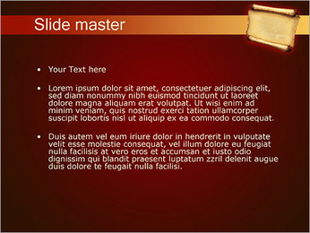 Ancient Paper PowerPoint Template