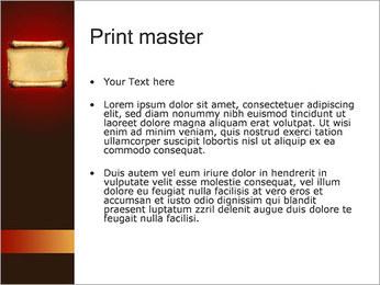 古代紙 PowerPointプレゼンテーションのテンプレート