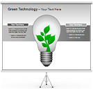 Green Technology PPT Diagrams & Chart