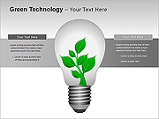 Green Technology PPT Diagrams & Charts