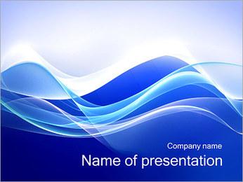 Vagues dynamiques Modèles des présentations  PowerPoint - Diapositives 1
